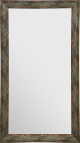 Pinnacle Gallery Solutions Rustic Slant Mirror - Brown Perspective: front