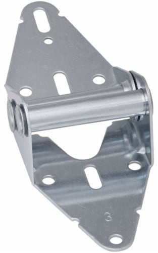 National Hardware 2-31/32 in. W x 7-5/8 in. L Steel Garage Door Hinge - Case Of: 1; Each Pack Perspective: front