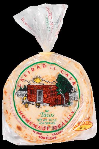 El Milagro Homestyle Flour Tortillas Perspective: front