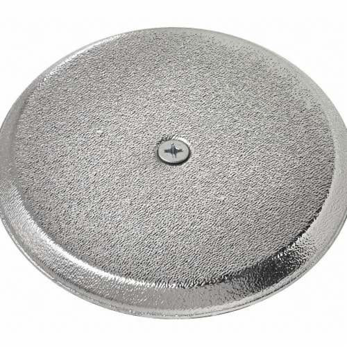 Oatey Cover Plate,High Impact,ChromeFinish,5   34406 Perspective: front