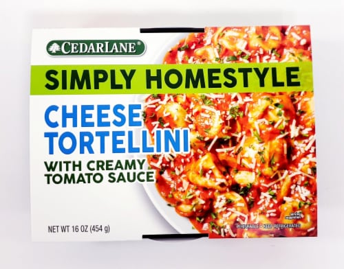 CedarLane Simply Homestyle Cheese Tortellini with Creamy Tomato Sauce Perspective: front