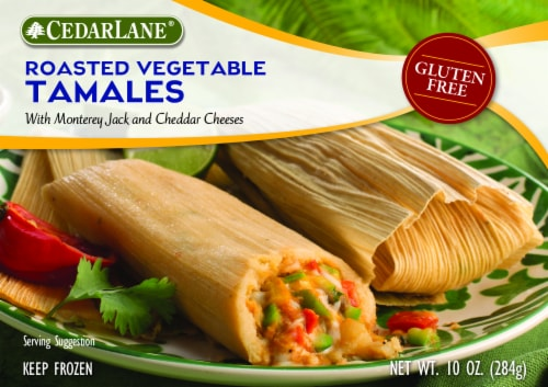 CedarLane Roasted Vegetable Tamales Perspective: front