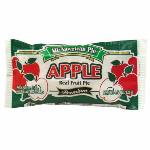 All-American Pie Apple Real Fruit Pie Perspective: front