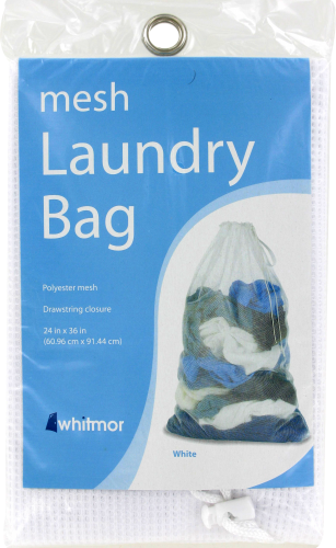 Whitmor Mesh Laundry Bag Perspective: front