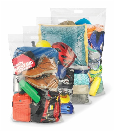 Whitmor Spacemaker™ Jumbo Storage Bag - Clear Perspective: front