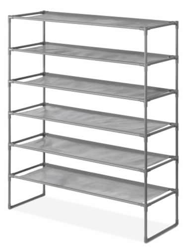 Whitmor Spacemaker 6 Tier Shelves Perspective: front