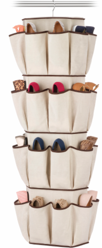 Whitmor Rotating Closet Organizer - Beige Perspective: front