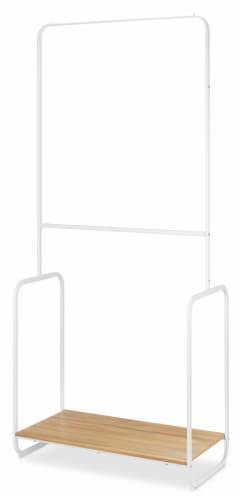 Whitmor Retro 2-Tier Garment Rack Perspective: front