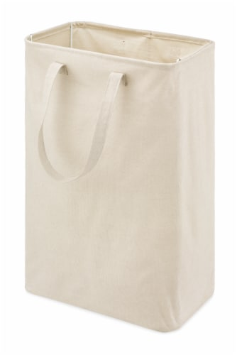Whitmor Canvas Laundry Hamper Perspective: front