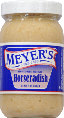 Meyer's Ground Horseradish Perspective: front