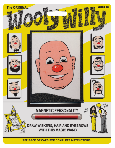 Play Monster The Original Wooly Willy Magnetic Toy Perspective: front