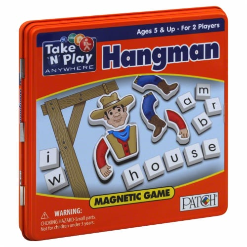 PlayMonster Take N Play Anywhere Hangman Game Perspective: front