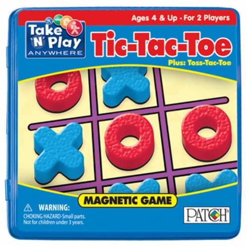 Take 'N' Play Anywhere™ Magnetic Tic-Tac-Toe Game Perspective: front