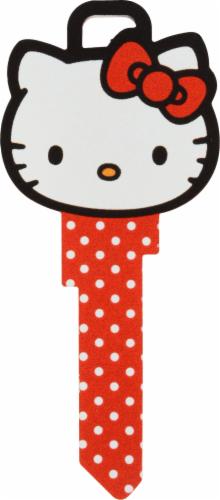 Hillman Kwikset Hello Kitty® Key Blank Perspective: front