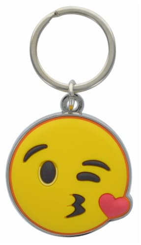 Hillman Metal Emojis Keychains - Assorted Perspective: front