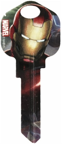 Hillman Iron Man Blank Key Perspective: front