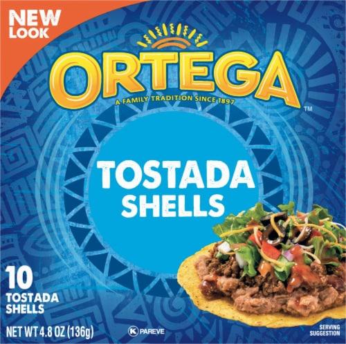 Ortega Tostada Shells 10 Count Perspective: front