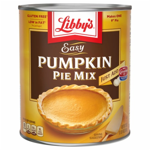 Libby's Gluten Free Easy Pumpkin Pie Mix Perspective: front