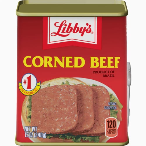 Libby's Corned Beef Perspective: front