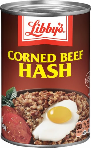 Libby's Corned Beef Hash Perspective: front