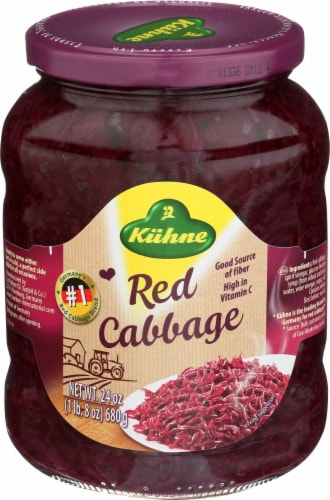 Kuhne Red Cabbage Perspective: front