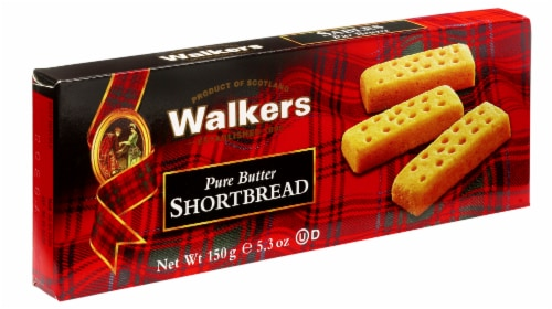 Walkers Pure Butter Shortbread Perspective: front