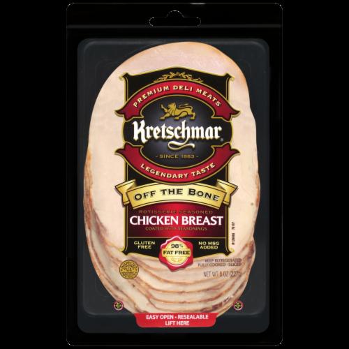 Kretschmar Off the Bone Rotisserie Seasoned Chicken Breast Perspective: front