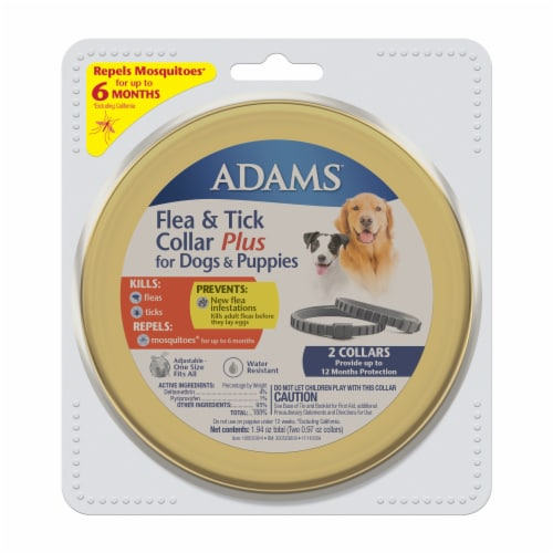 Adams Flea & Tick Collar Plus Perspective: front