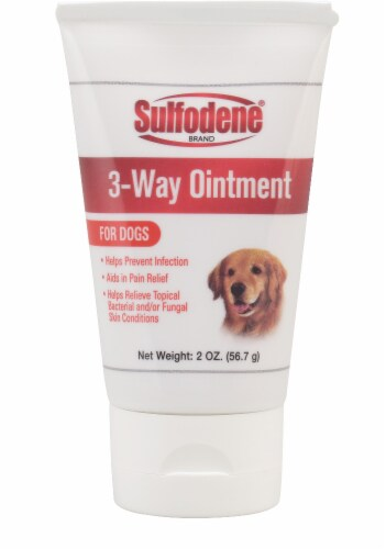 Sulfodene 3-Way Ointment for Dogs Perspective: front