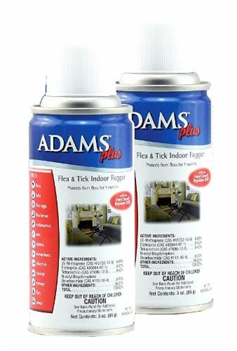 Adams Flea & Tick Indoor Fogger Perspective: front