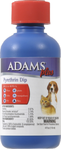Adams Plus Pyrethrin Dip Perspective: front