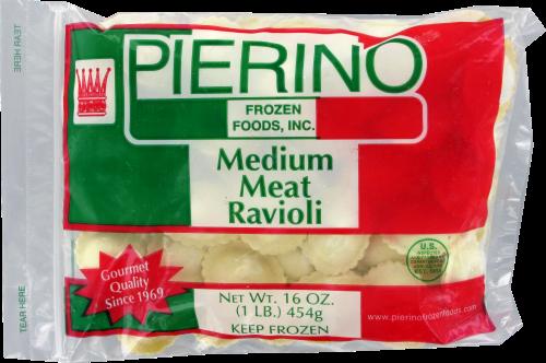 Pierino Medium Meat Ravioli Perspective: front