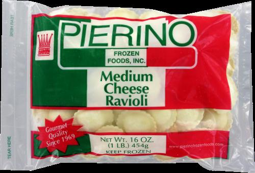 Pierino Medium Cheese Ravioli Perspective: front