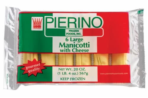 PierinoLarge Cheese Manicotti Perspective: front
