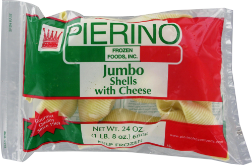 Pierino Jumbo Shells with Cheese Perspective: front