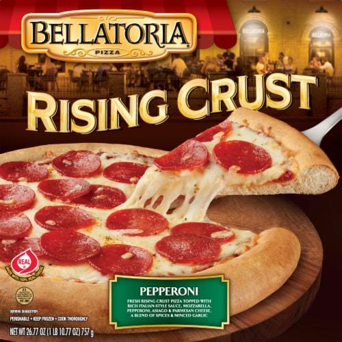 Bellatoria Rising Crust Pepperoni Pizza Perspective: front