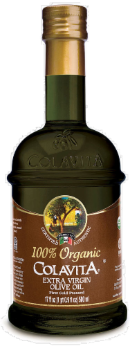 Colavita Organic Extra Virgin Olive Oil Perspective: front