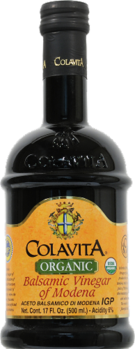 Colavita Organic Aged Balsamic Vinegar of Modena Perspective: front