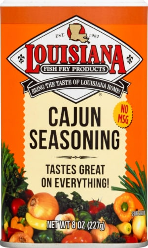 Louisiana Fish Fry Cajun Seasoning Perspective: front