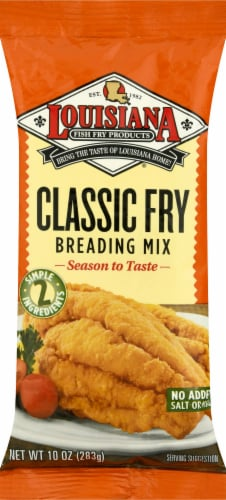 Louisiana Classic Fry Breading Mix Perspective: front