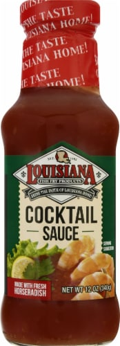 Louisiana Fish Fry Products Cocktail Sauce Perspective: front