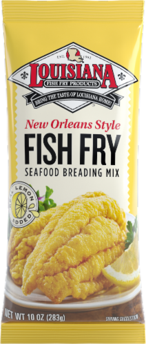 Louisiana New Orleans Style Fish Fry Mix Perspective: front