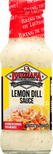 Louisiana Brand Lemon Dill Sauce Perspective: front