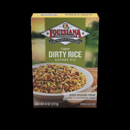 Louisiana Cajun Dirty Rice Entree Mix Perspective: front
