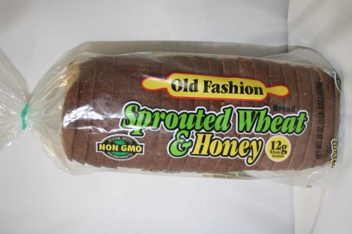 Old Fashion Sprouted Wheat & Honey Bread Perspective: front