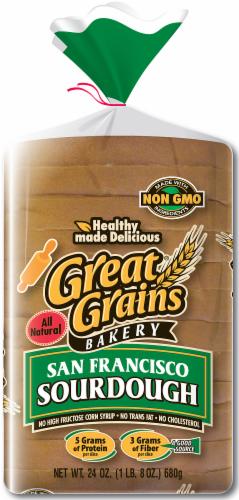 Great Grains Sourdough Bread Perspective: front