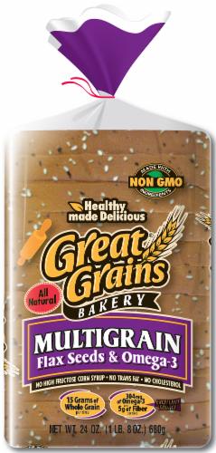 Great Grain Wide Pan Multi-Grain Bread Perspective: front