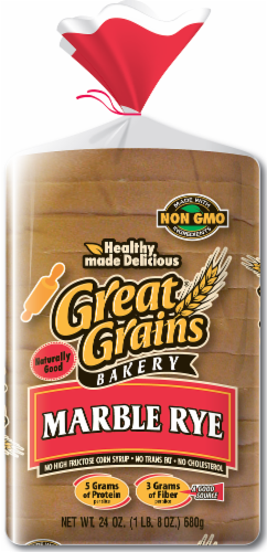 Great Grains Marble Rye Perspective: front
