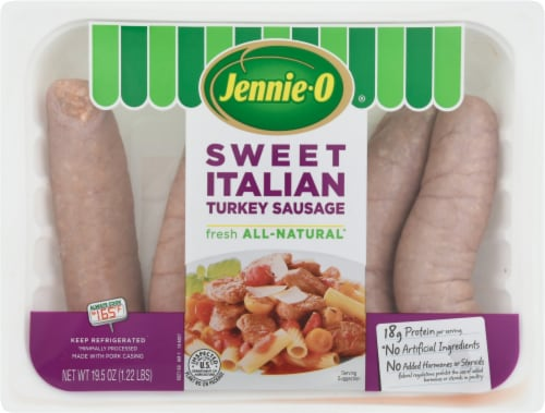 Jennie-O Sweet Italian Lean Turkey Sausage Links Perspective: front