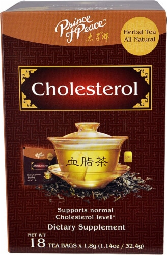 Prince of Peace Cholesterol Herbal Tea Perspective: front